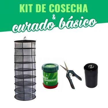 KIT COSECHA, SECADO Y CURADO BÁSICO