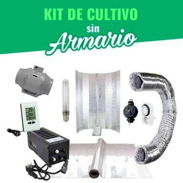 kit de cultivo sin armario