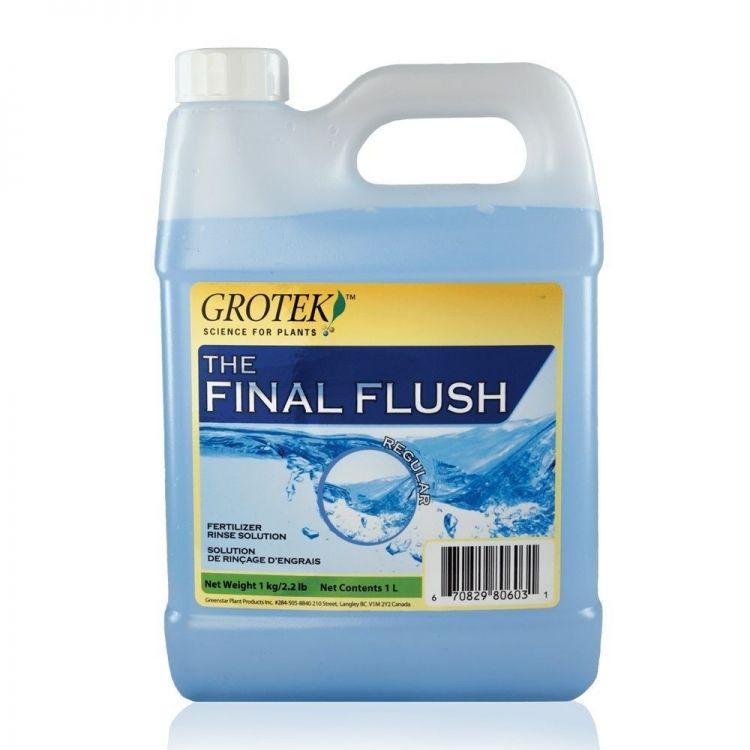 Final flush sabores