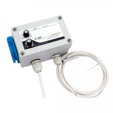 Controlador de temperatura y velocidad