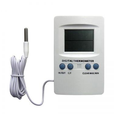 Termohigrómetro y reloj con sonda
