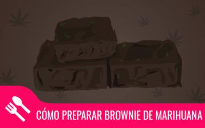Cómo preparar brownie de marihuana