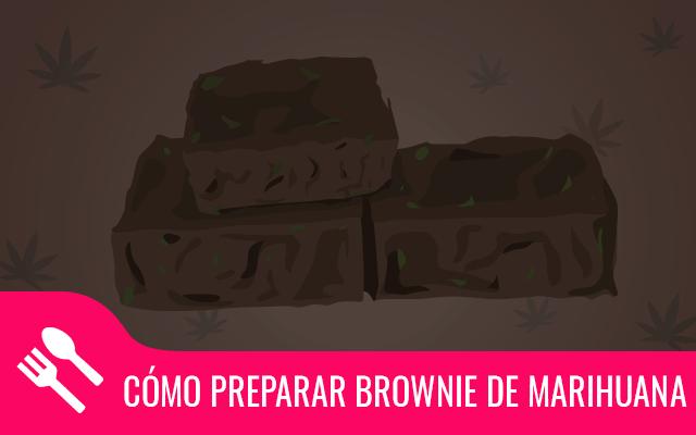 Brownie de marihuana