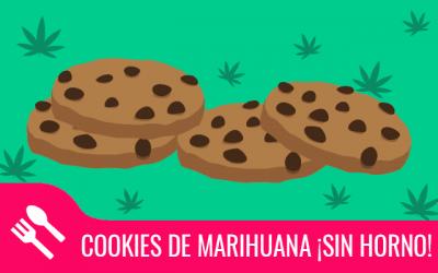 Cookies de marihuana ¡sin horno!