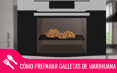Cómo preparar galletas de marihuana